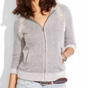 Lucky Lotus Softest Knitwear Hoodie Sweater M NWT